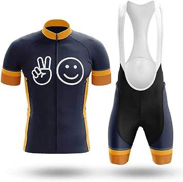 Traje de Ciclismo para Hombre Culotte y Maillot con 9D Gel Pad ...