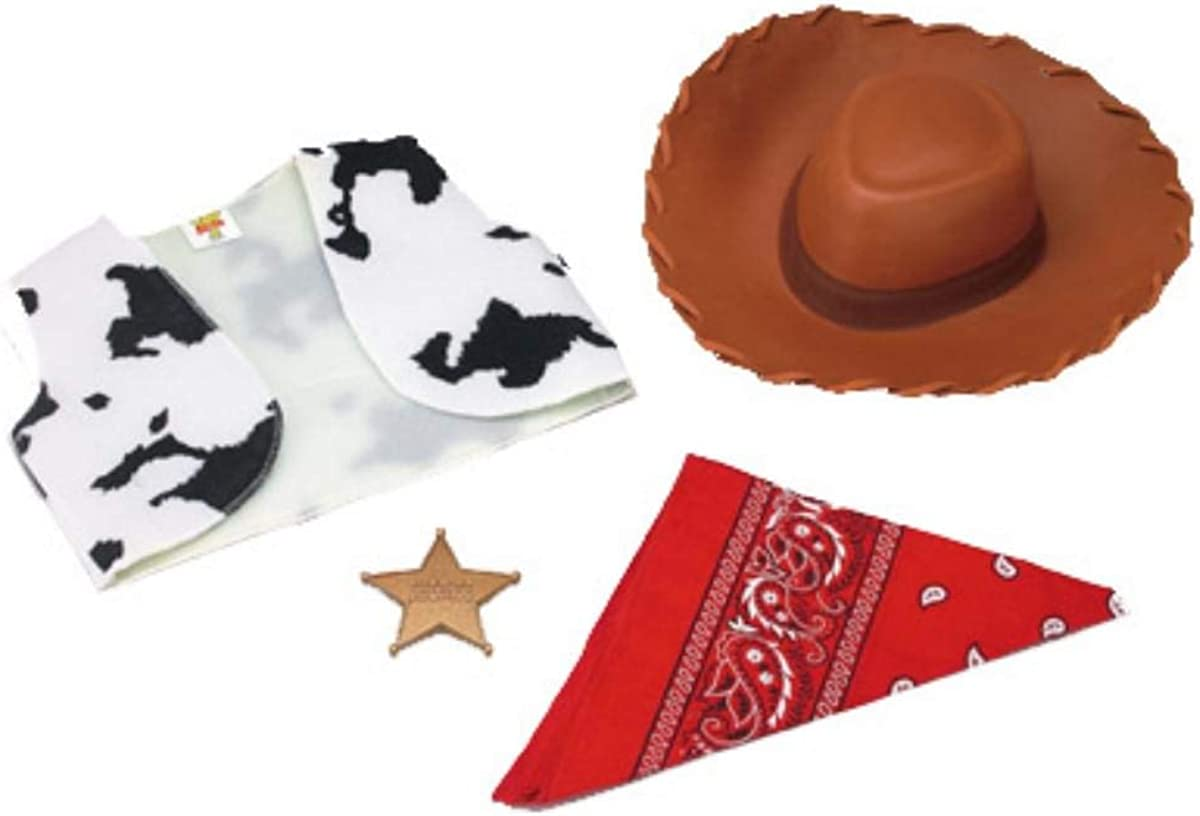 Woody Accessory Kit Toddler Costume Set