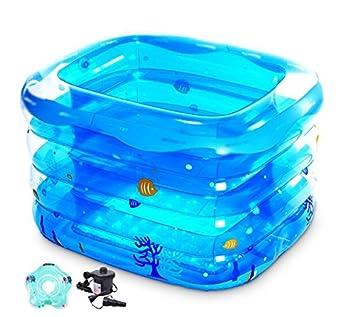 Baby-Swimmingpool Kinder Neugeborenen Swimming Wanne ...