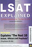 Lsat Explained, Get Prepped, 0974853356