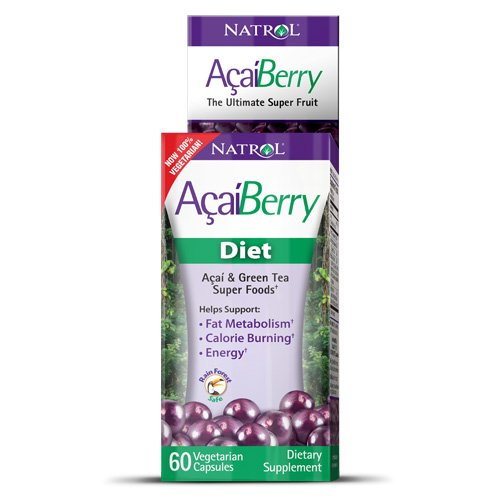 Natrol Acai Berry Review, 1200mg & 1000mg Diet Supplement Pills