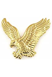 Gold Eagle Lapel Pin