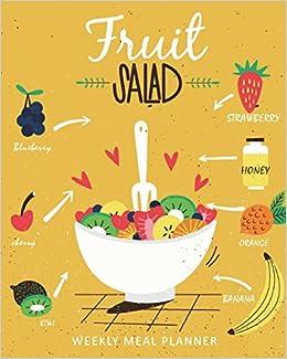 weekly meal planner 52 week meal prep book menu food planners