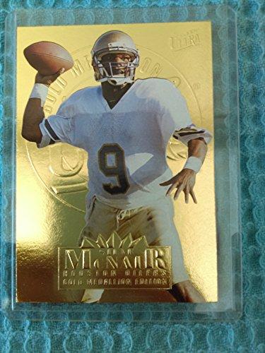 Steve McNair - 1995 Ultra 125 Gold Foil Medallion Rookie - Houston Oilers / Tennessee Titans / Alcorn ()