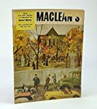 Maclean's - Canada's National Magazine, October (Oct) 1, 1955 - Crackdown on Montreal Vice / Connaught Laboratories History