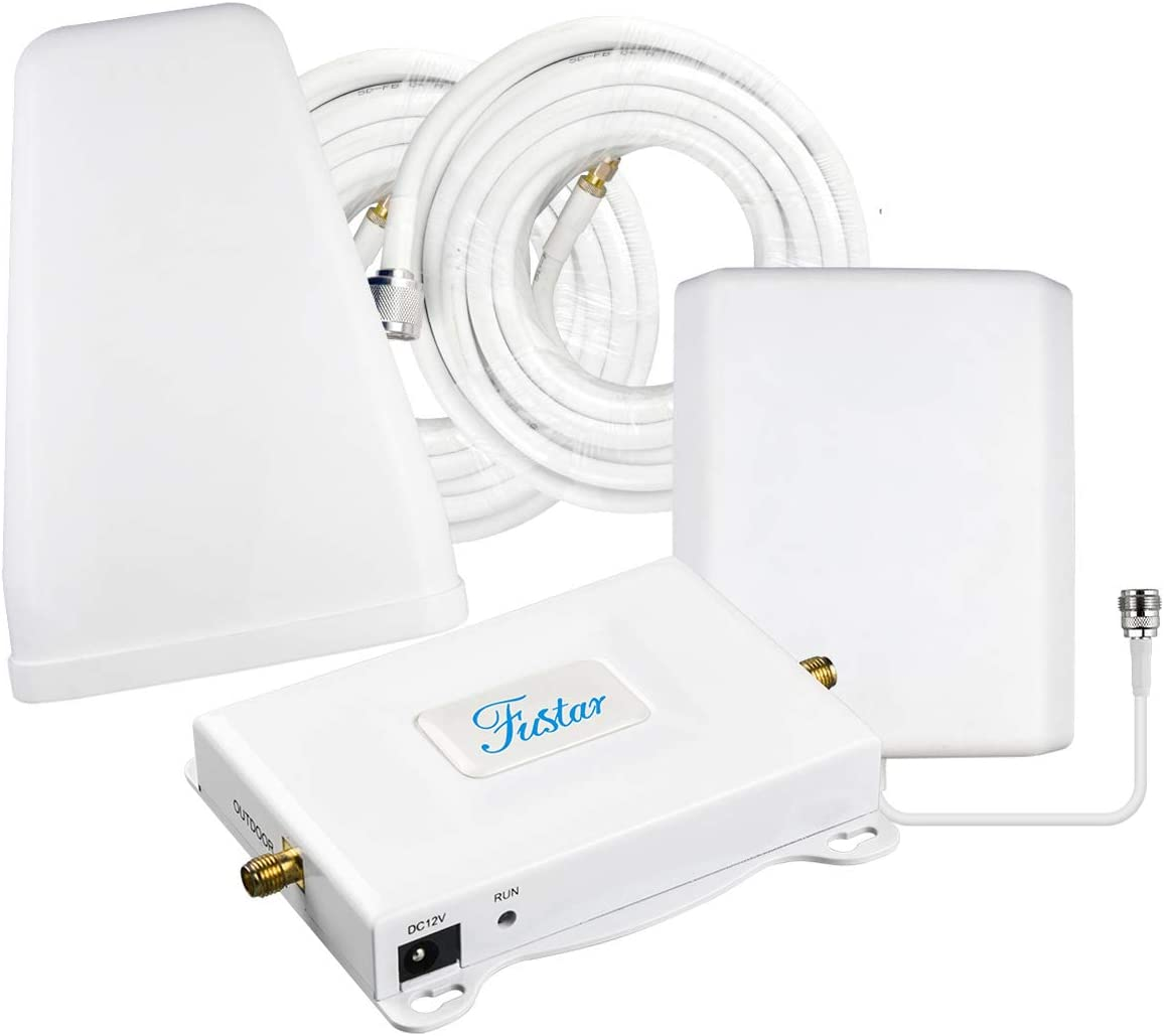 Cell Phone Signal Booster Verizon Network Extender Signal Booster 4G LTE Band 13 Cell Booster Verizon Cell Phone Booster Repeater Cell Signal Amplifier 4G Booster Antenna for Home Cell Service FUSTAR