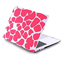 Macbook Case,New Art Fashion Image Clear Crystal Plastic Multi Color Style Ultra Slim Lightweight Cover Shell