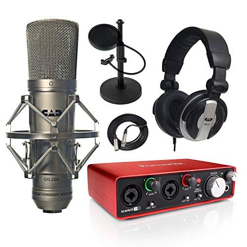 focusrite-scarlett-2i2-2nd-gen-usb-audio-interface-and-gxl2200-studio-recording-bundle-with-pro-tool