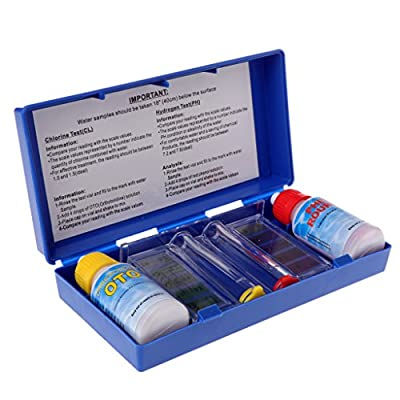 Sarora 1 Set PH Chlorine Water Quality Test Kit Swimming Pool Aquarium Accessory Tester