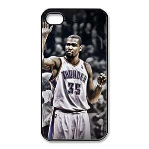 iphone4 4s Phone Cases Black Kevin Durant Oklahoma City Thunder CBE024968