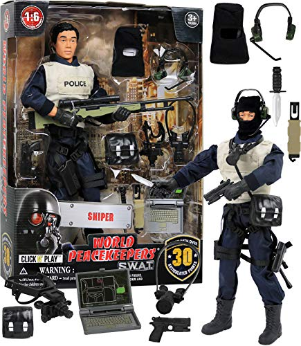 Click N' Play Police Force Sniper 12