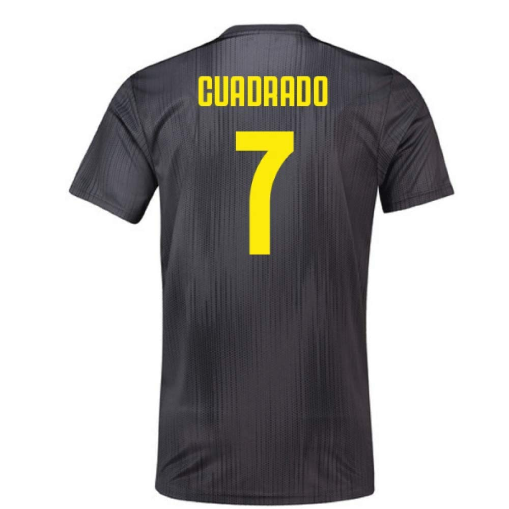 2018-19 Juventus Third Football Soccer T-Shirt Trikot (Juan Cuadrado 7) - Kids