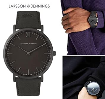montre homme top brand luxury Larsson Jennings watch 2016 new mens watches Business fashion Quartz watch