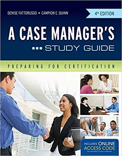 A Case Managers Study Guide Preparing For Certification
