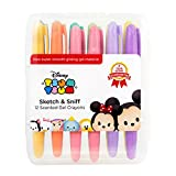 Disney Tsum Tsum Sketch & Sniff Scented Gel Crayons Set of 12