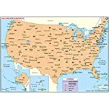 Amazon.com : US Major Airports Map (36\