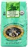 Jeremiah's Pick Coffee Organic Water Processed Decaf, Raisin &  Chocolate Round and Robust Whole Bean Coffee, Dark Roast, 10 Ounce Bag