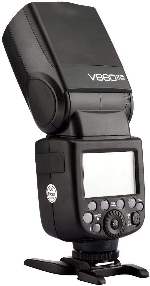Godox V860II-C GN60 E-TTL HSS 1//8000s High Power Lithium Battery Slave//Master 2.4G Wireless Speedlight for Canon 6D 7D 50D 60D 1DX 600D 600EX-RT 580EX II 5D Mark II III