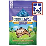 Blue Buffalo Crunchy Blue Bits Banana & Peanut Butter Dog Training Treats, 3 oz.(2Pack)