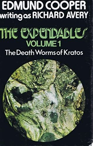 book cover of The Deathworms of Kratos