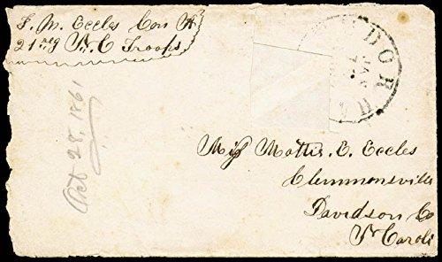 Civil War Confederate Autograph Letter Signed 07/09/1861