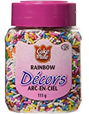 Cake Mate, Decorating with Ease, Decors Sprinkles, Rainbow, 113g