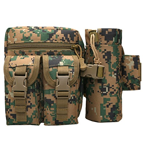 UPC 885995011084, Tapp C. Utility Tactical Military Waist Pack Pouch - Digital Camouflage