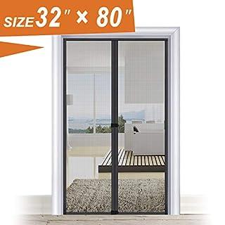Magic Screen Door 32 X 80, Entry Front Door Fit Door Frame Size Up To