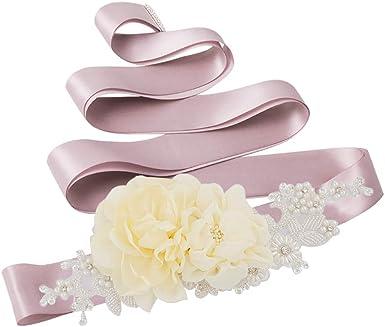 Azaleas Lace wedding sash belt,Bridal Belt Sashes,wedding belts with rhinestones