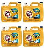 Arm & Hammer 2X Ultra Clean Burst Liquid Laundry Detergent 210 oz WLM (Pack of 4)