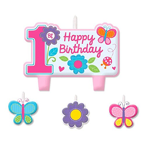 Sweet Birthday Girl Birthday Candle Set -