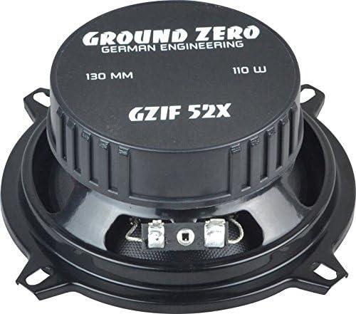 seitliche Heckablage // hinten Ground Zero Iridium GZIF 52X Auto Lautsprecher Koax-System 220 Watt f/ür BMW 3er E36 Touring 01//88-04//00 Einbauort vorne
