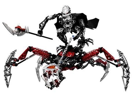 Amazoncom Lego Bionicle Vezon And Fenrakk Toys Games