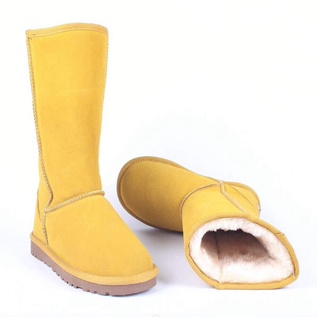 BNXXINGMU  Frauen Schnee Stiefelfashion Wasserdichte Schuhe Frau Winter Warme Schuhe Halten