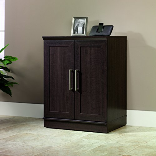 Black Wood Storage Cabinet Home Furniture Design