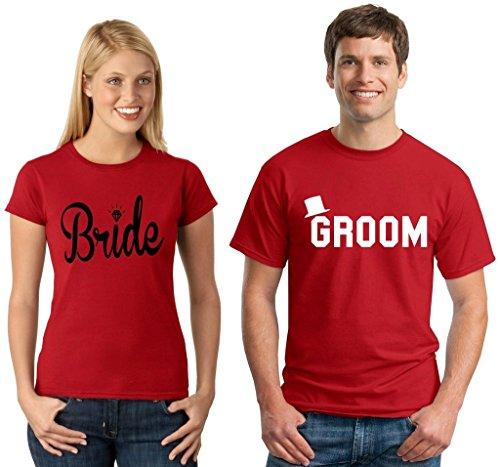 Bride Groom Couple T shirt