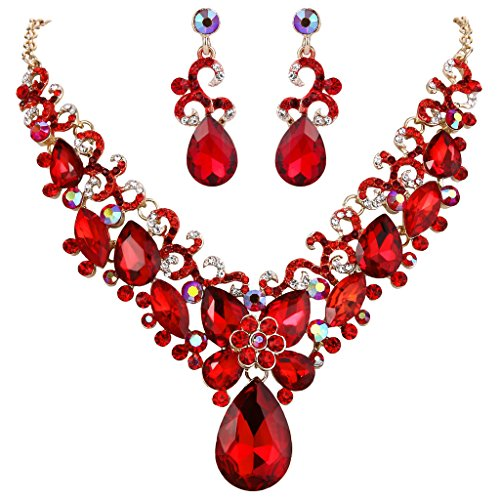 Looking for a costume jewelry necklace gold with red? Have a look at this 2020 guide!
