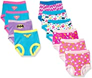 DC Comics Unisex-Baby Justice League Toddler Girls Potty Training Pant Multipacks