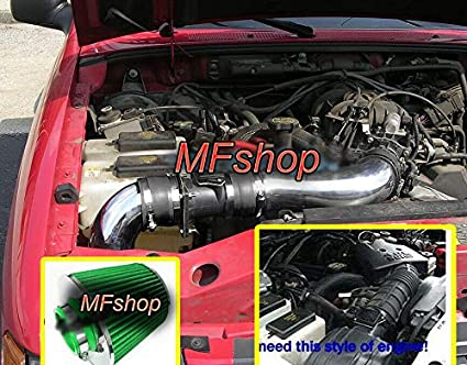 2001 explorer sport trac fuel filter amazon com performance 2pc air intake filter system for 2001 2002  performance 2pc air intake filter