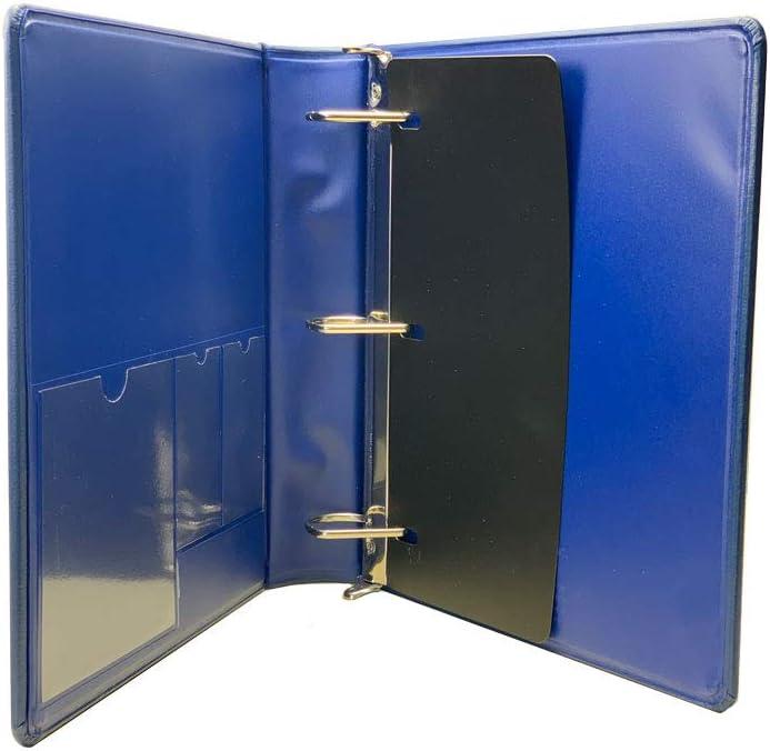 Plain-No Lettering, Emerald Blumberg Portfolio 3 Ring Binders