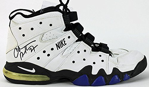 Suns Charles Barkley Signed Game Used Nike Air Max Size 1...