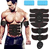 ABS Stimulator - OUBARDE Portable Muscle Trainer EMS Abdominal Toning Belt for Men