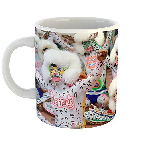 Westlake Art Celebration Close-Up - 11oz Coffee Cup Mug - By Modern Picture Photography Artwork Home Office Birthday Gift - 11 Ounce (Bay To Breakers Costumes)