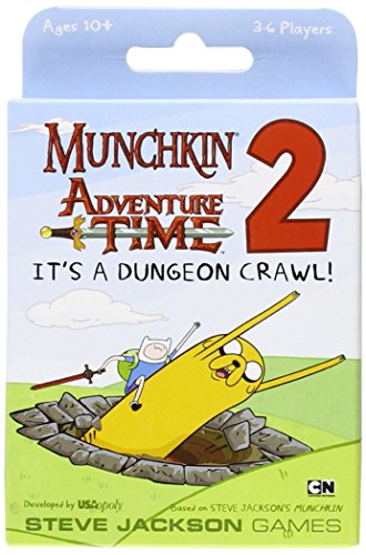 Munchkin Adventure Time 2: It's a Dungeon Crawl Expansion Set ()
