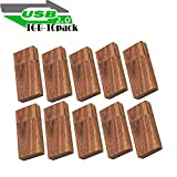 Wood Flash Drives 1GB, EASTBULL Wooden USB Flash Drive Thumb Drives Pack Walnut Memory Stick for Date Storage High Speed 2.0 (10 Pack)