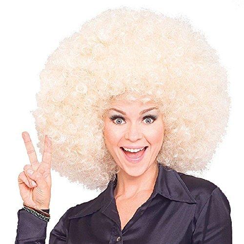 Costume Wig Big Huge Giant 70s Disco Clown