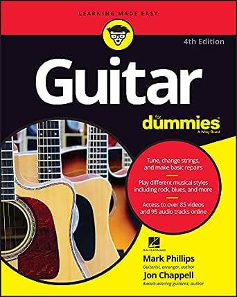 Guitar For Dummies (English Edition) eBook: Mark Phillips, Jon ...