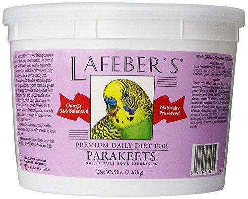 - Lafeber Company Parakeet Pellets Premium Daily Diet Pet Food, 5-Pound