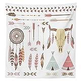 Native American Decor Tablecloth Tribal
