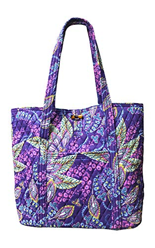(Vera Bradley Vera Tote Bag, Batik Leaves)
